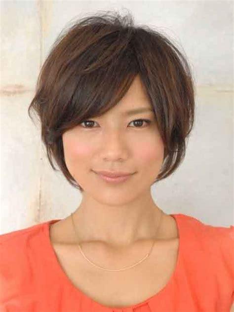 asian short hairstyles  women short