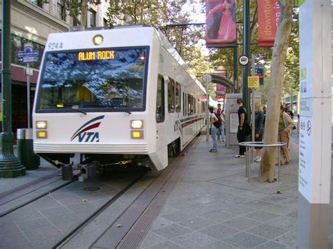 vta light rail the san jose free vta rides new year s