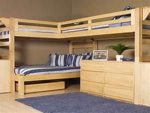 Lit Enfant Double : le lit mezzanine et bureau plus d 39 espace ~ Teatrodelosmanantiales.com Idées de Décoration