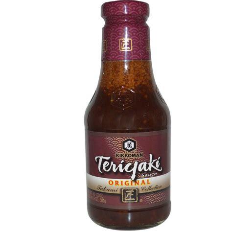 teriyaki sauce kikkoman teriyaki sauce original 20 5 oz 581 g iherb com