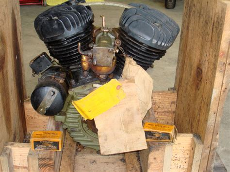 Harley Davidson Crate Engines by Harley Davidson Flathead 45 Wla Original Condition New In