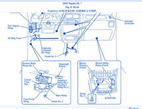 Suzuki Dash Fuse Box Block Circuit Breaker