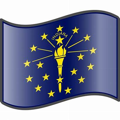 Indiana Flag Clipart Svg Nuvola State Clip