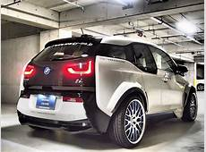 DUB Magazine EVERYN's BMW i3