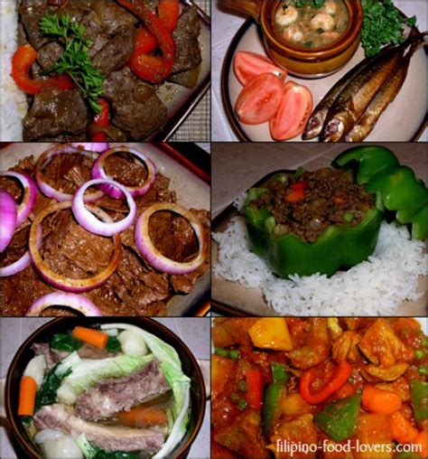 phil cuisine loving the food philippine cuisine hubpages