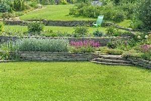 Jardin En Pente Raide : am nager votre jardin en pente nos conseils ~ Melissatoandfro.com Idées de Décoration