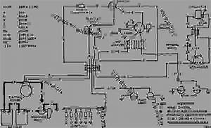 Wiring Diagram - Track-type Tractor Caterpillar D6c   Power Shift    24u00001