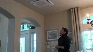 Ceiling Cassette For Mr Slim Mini Split YouTube
