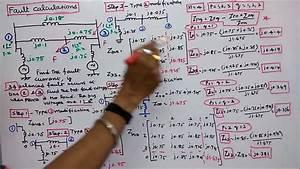 Symmetrical Fault Calculations  U2013 Part  U2013 04  U2013 Calculation Of Fault Current  U0026 Problem