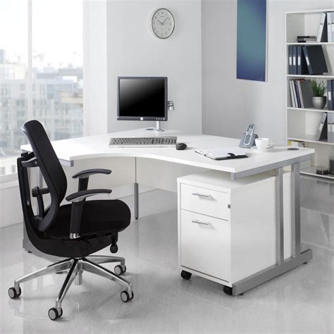 white office table desk white office furniture for timeless style actual home