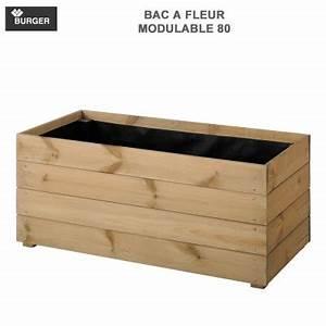 Fleur En Bois : bac fleurs bois rectangulaire carr rond avec ~ Dallasstarsshop.com Idées de Décoration