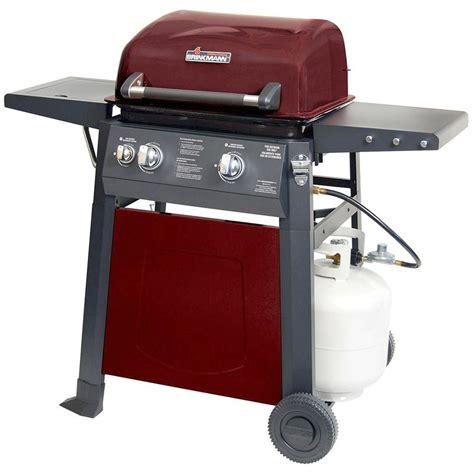 brinkmann 810 4220 s 2 burner propane gas grill ebay