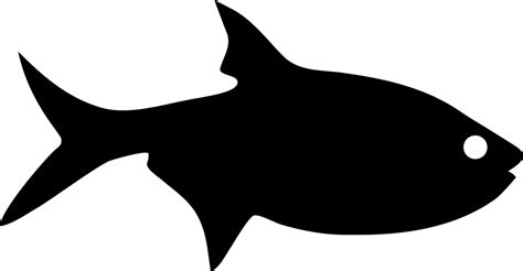 Fish Silhouette Svg Png Icon Free Download (#74634