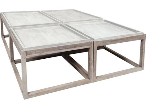 Matter grey cement square coffee table. Elk Outdoor Henna Teak 48'' Wide Square Coffee Table in 2020 | Teak outdoor furniture, Coffee ...