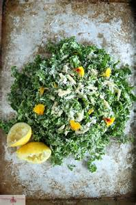Lemon Kale Salad Recipe with Almonds and Pecorino