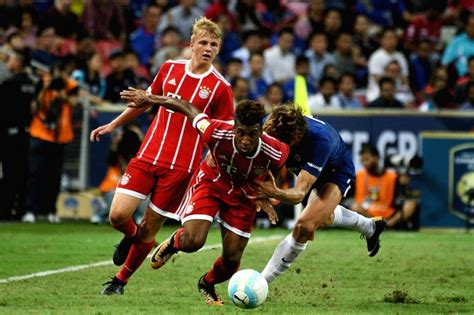 SINGAPORE-SOCCER-ICC-BAYERN MUNICH VS CHELSEA