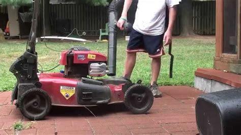 how to clean lawn mower how to clean lawn mower youtube