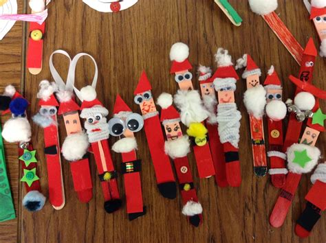 elementary student christmas crafts festival collections