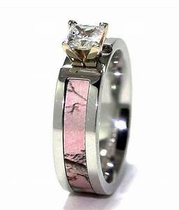 women39s cobalt chrome realtree ap pink camo engagement With womens camouflage wedding rings