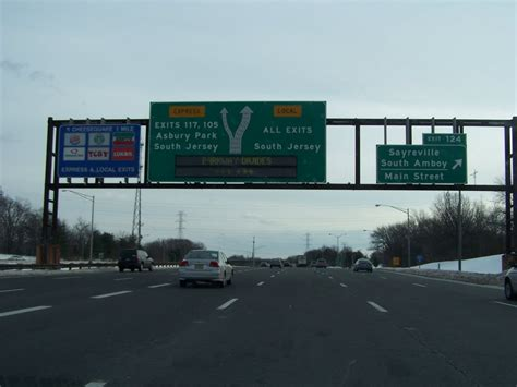 on garden state parkway south panoramio photo of garden state parkway south exit 124