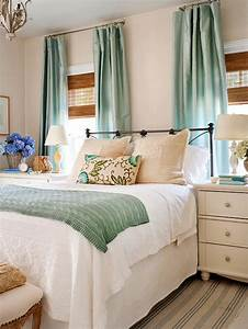 Soothing, Bedroom, Color, Schemes