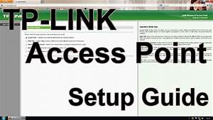 How To Setup A Tp-link Access Point