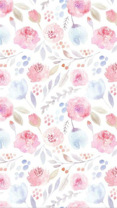 Floral elements with a vibrant color scheme on a chevron. Idea by Estelle Hamman on 1. Art - Floral | Watercolor wallpaper iphone, Ipad wallpaper ...