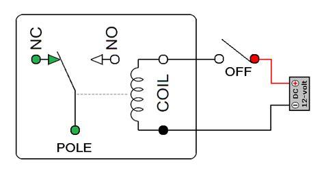 Relay Pin Configuration Basic Circuit Diagram