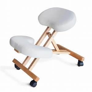 Chaise De Bureau Confortable : chaise orthop dique de bureau en bois confortable si ge ergonomique balancewood ~ Teatrodelosmanantiales.com Idées de Décoration