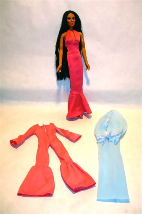 1976 Mego Cher doll with 3 outfits ? NVISION   Cincinnati