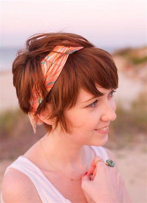 inspirations  bohemian short hairstyles