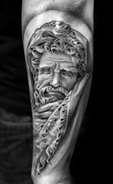 30 Socrates Tattoo Designs For Men - Philosopher Ink Ideas