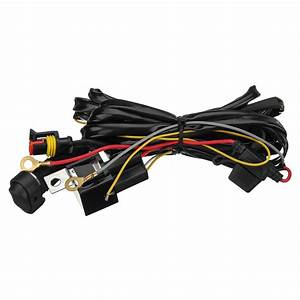 12v 40a Led Fog Lights Wiring Harness Switch On  Off For Bmw R1200gs F800gs  Adv