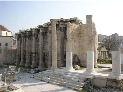 hadrian library  athens