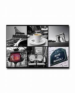 Tableau Deco Noir Et Blanc : tableau d co paris noir et blanc boniday tableau toile plexiglass ~ Melissatoandfro.com Idées de Décoration