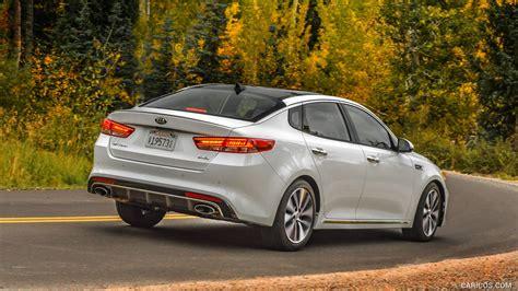 Kia Optima 2 0 Turbo by 2016 Kia Optima Sxl 2 0 Turbo Rear Hd Wallpaper 4