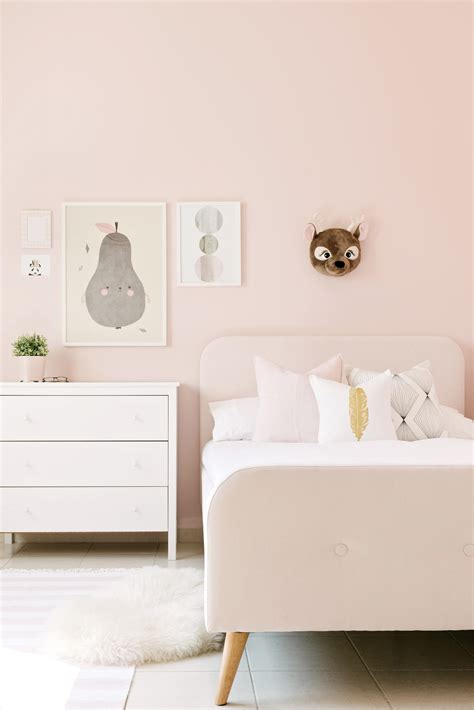 pastel color bedroom     girl feel