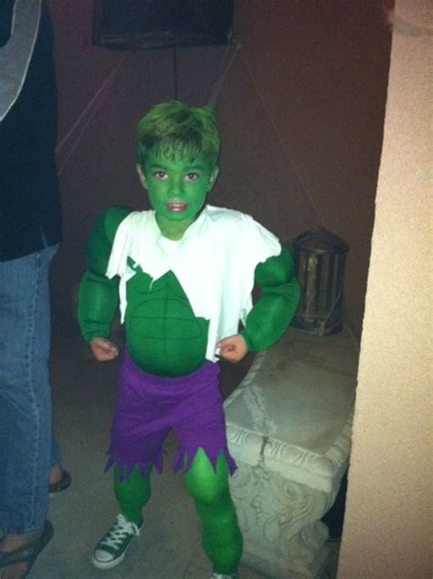 Incredible Hulk Costume  Costumes  Pinterest  To Be