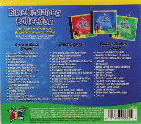 Cedarmont Kids Bible Singalong Collection New 3 Cds 48