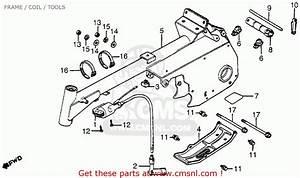 Honda Atc70 1985  F  Usa Frame    Coil    Tools