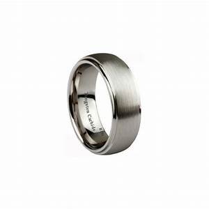 engraved with i love you tungsten carbide wedding With i love you wedding rings