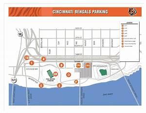 Ohio Football Stadium Seating Chart Paul Brown Stadium Cincinnati Oh Seating Chart View