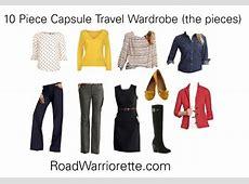 10 Piece Business Travel Wardrobe Road Warriorette