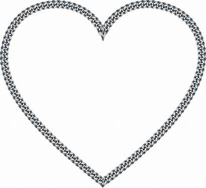 Chain Heart Clipart Transparent Clipground Webstockreview Person