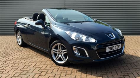 Peugeot 308 Convertible by Used Peugeot 308 Cc Convertible 1 6 E Hdi Active 2dr