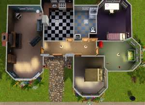 The Sims 3 Starter House Floor Plans
