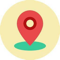 Location Pin Icon Flat - Icon Shop - Download free icons