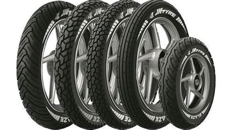 Jk Tyre Blaze Two-wheeler Tyres Launched In India
