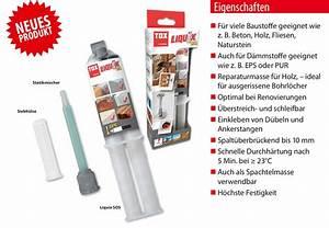 Dübel Mauerwerk Einkleben : reparaturkleber liquix sos d bel shop ~ Orissabook.com Haus und Dekorationen
