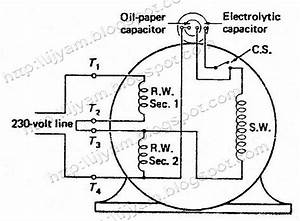 Electrical Control Circuit Schematic Diagram Of Two